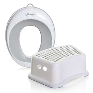 Dreambaby New Contoured Potty Seat & Step Stool Bundle - Grey - £3.99 with free click and collect @ Argos.