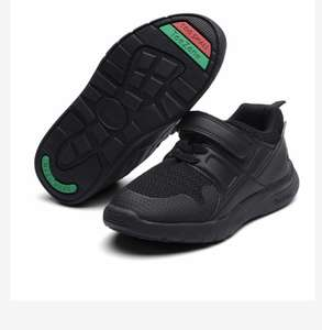 TOEZONE Black Unisex School Trainers (8 Infant-1) £4.50 at Sainsbury's Tu Clothing - £3 click & collect / £3.95 delivery