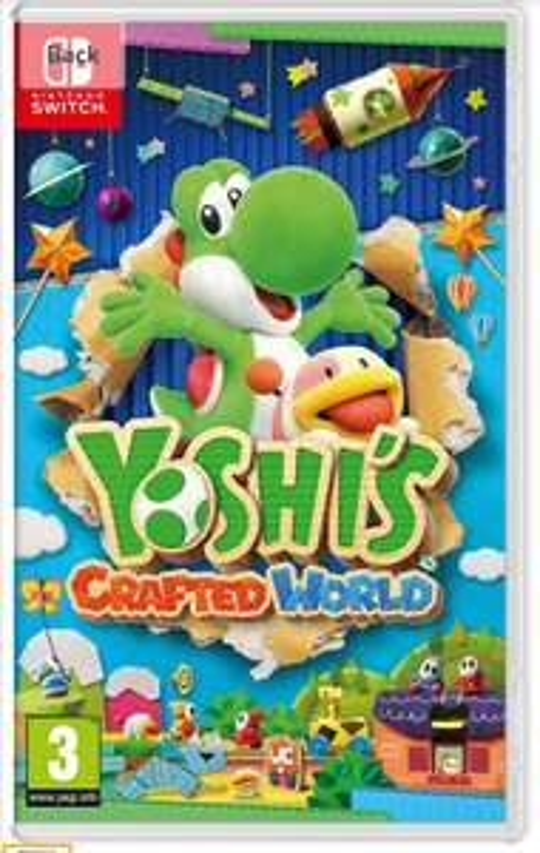 Yoshi's Crafted World (Nintendo Switch) - £36.99 @ Amazon