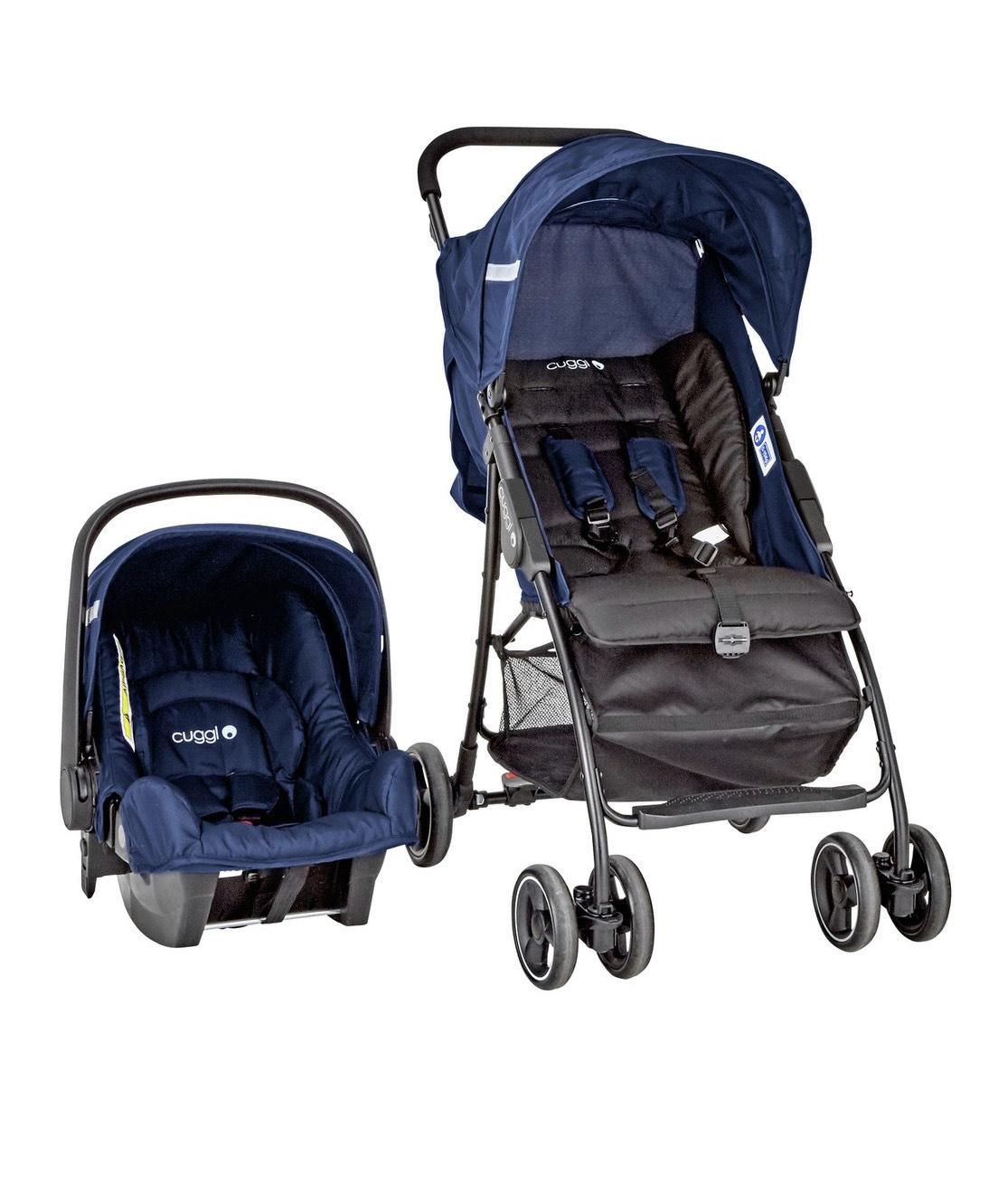 Cuggl Empress Travel System - car seat and stroller £24.99 @ Argos