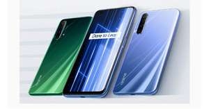 Realme X50 128GB Smartphone - 5G Speed Pioneer Snapdragon 765G 5G | 120Hz Ultra Smooth Display | 30W Dart Charge-£259 @ Realme