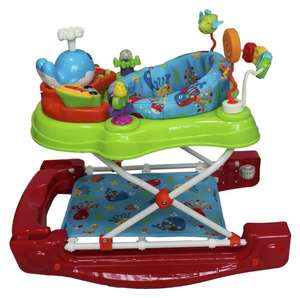 Red Kite 4-in-1 Baby Walker £16.49 free click and collect at Argos