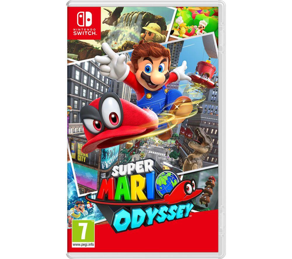 Super Mario Odyssey £31.99 @ Currys