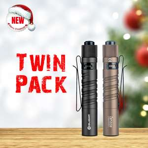 Olight Christmas Sale i3T Twin Pack for £22.93 (£11.47 each) using sitewide coupon @ Olight