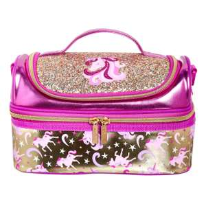 Gold Double Decker Lunchbox With Strap - £12.60 (+£4.99 Shipping) @ Smiggle