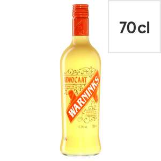 Warninks Advocaat 70Cl Bottle £10 Clubcard Price at Tesco