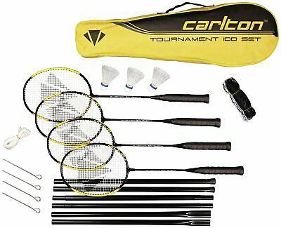 Carlton Powerblade Tournament 4 Person Badminton Set - includes net, now £17.50 (Click & Collect) @ Argos