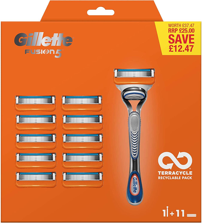 Gillette Fusion 5 Razor + 10 blades - £12.50 instore @ Tesco, Pemberton Express (Wigan)