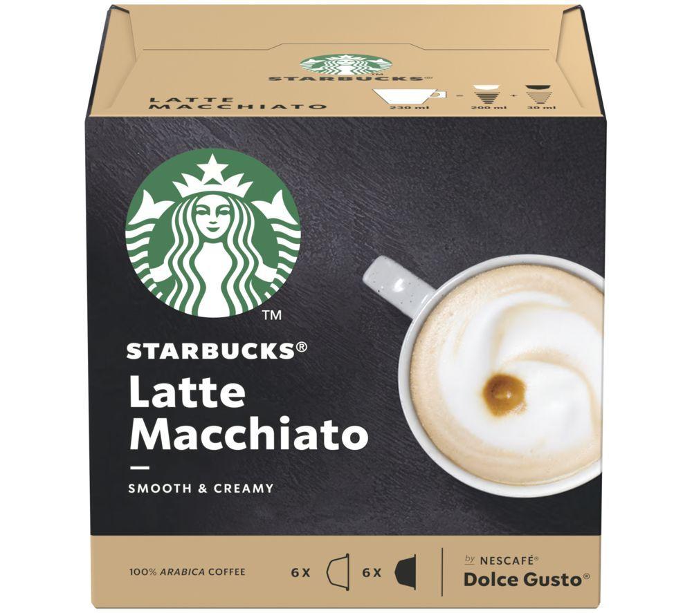 Boxes of 6 Dolce Gusto Starbucks Pods: Latte Macchiato, Caramel Macchiato & Cappuccino - £2.99 instore @ Makro, Aberdeen