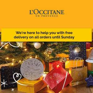 Free Delivery On All Orders + Free First Signs of Ageing Precious Sample Trio & Free Gift Wrapping @ L'Occitane