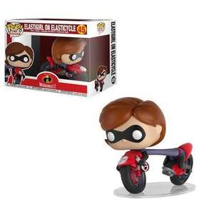 The Incredibles 2: Elastigirl on Elasticycle Pop! Ride Vinyl Figure £5.19 at Rarewaves