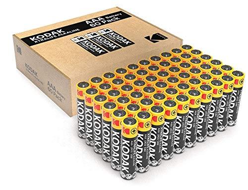 Quality Kodak Alkaline AA Batteries x 60 pack - £12.95 Prime / +£4.49 non Prime @ Amazon