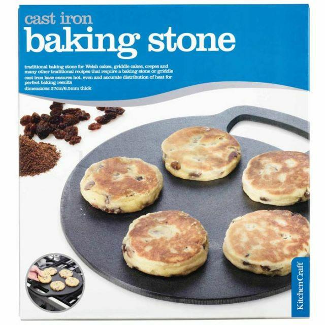 Circular Cast Iron Baking Stone- 10.5in £10.99 + £2.75 del at charlies