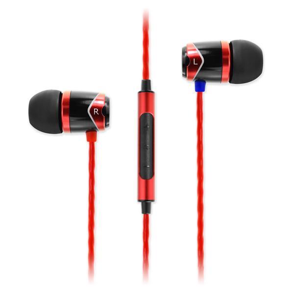 SoundMAGIC E10C In Ear Isolating Earphones with Mic, Red £22.95 (possible £21.80) @ SoundMagic