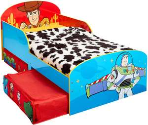 Disney Toy Story 4 Kids Toddler Bed with Storage Drawers £71.42 @ Amazon Warehouse 'Used Good' at Amazon Warehouse