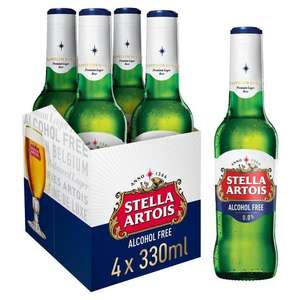 Stella Artois Zero 4pk only 99p instore at Home Bargains, St. Mary's Cray