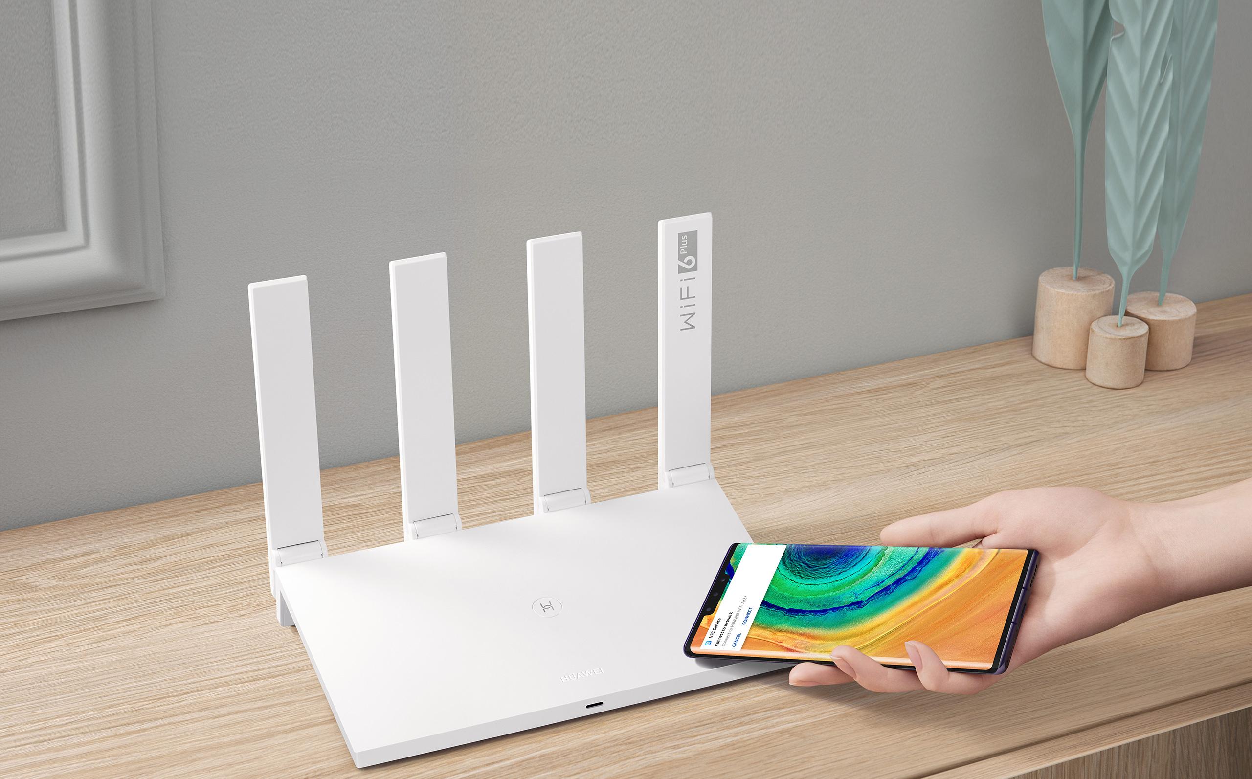 HUAWEI AX3 Quad-core Wi-Fi 6 Plus Revolution 3 £40.49 with code @ Huawei