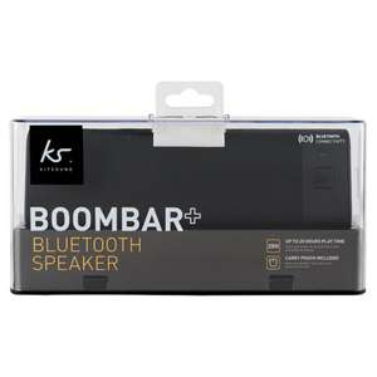 Kitsound Boombar Plus Wireless Speaker Black/Rose Gold £20 @ Tesco