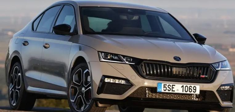 SKODA OCTAVIA 2.0TSi 245PS Manual vRS Hatchback lease £269 a month x 23 Months + £2490 upfront - Total £8,946 @ Simpsons Skoda