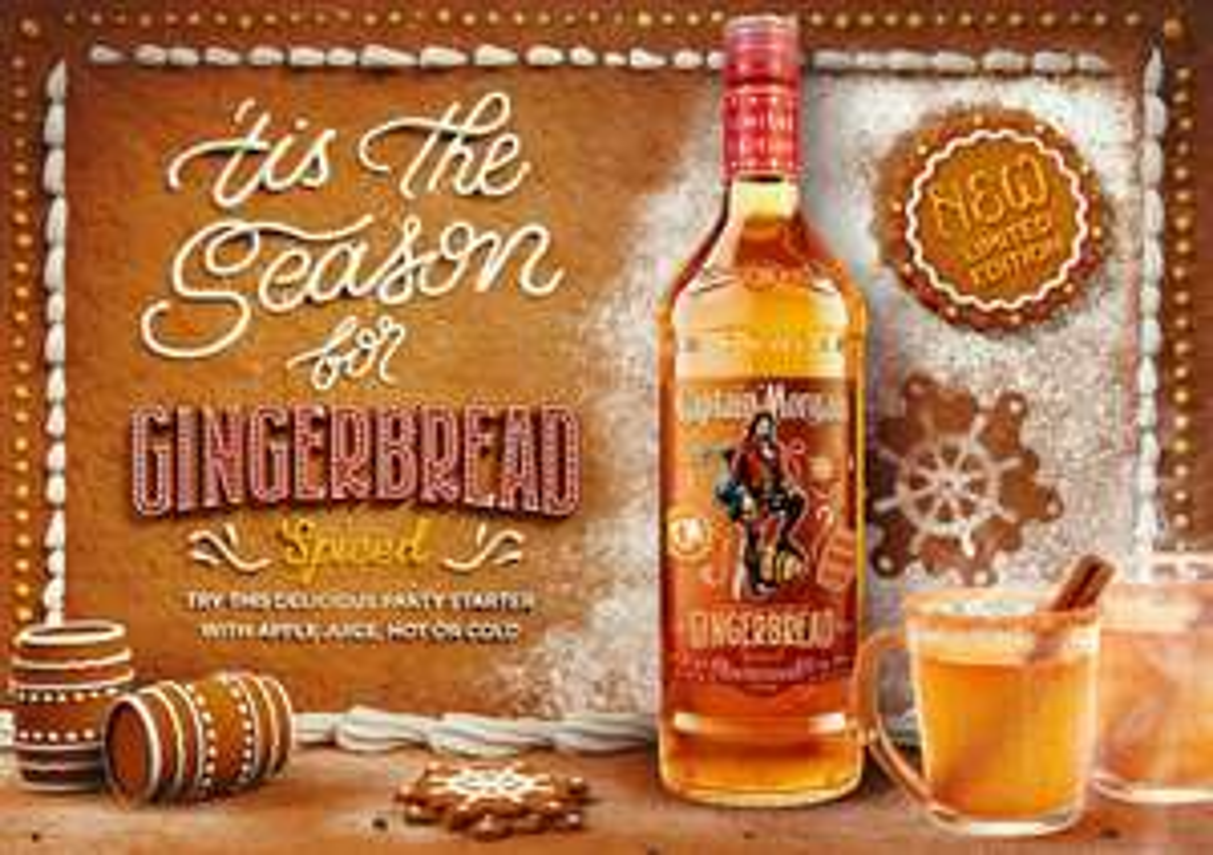 Captain Morgan Gingerbread Spiced Rum 0.5l 30% - £6 @ Asda