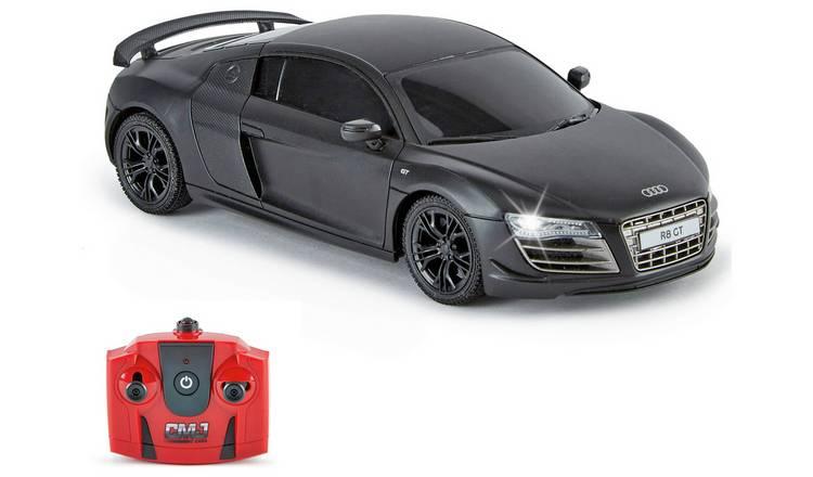 Audi R8 1:24 Radio Controlled Sports Car - Matte Black £10 C&C @ Argos