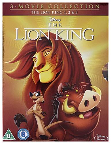 The Lion King 1-3 [Blu-ray] [1994] [Region Free] £7.50 + £2.99 NP @ Amazon