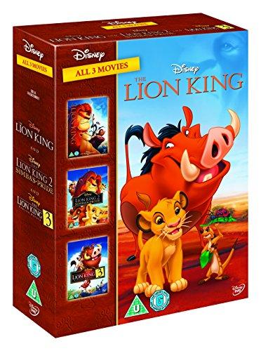 The Lion King 1-3 [DVD] - £7.50 Prime / +£2.99 non Prime @ Amazon