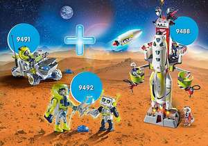 Playmobil Mars Bundle Product No.:PM2005T - £49.99 delivered @ Playmobil Shop