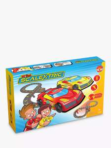 My First Scalextric Slot Car Racing Set £29.99 @ John Lewis & Partners (£2 C&C / Free over £30)