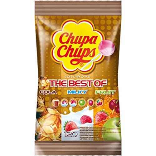 Chupa Chups Best of 120 bag (Cola / Milky / Fruit) £10.41 Prime / £14.90 Non-Prime @ Amazon