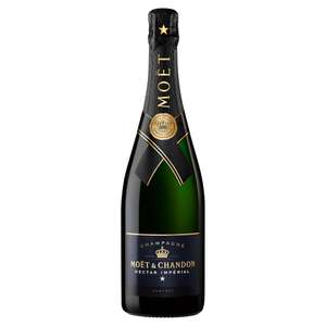 Moët & Chandon Nectar Impérial Non Vintage Champagne 75cl - £30 each / 6 for £135 with 25% off @ Sainsbury's