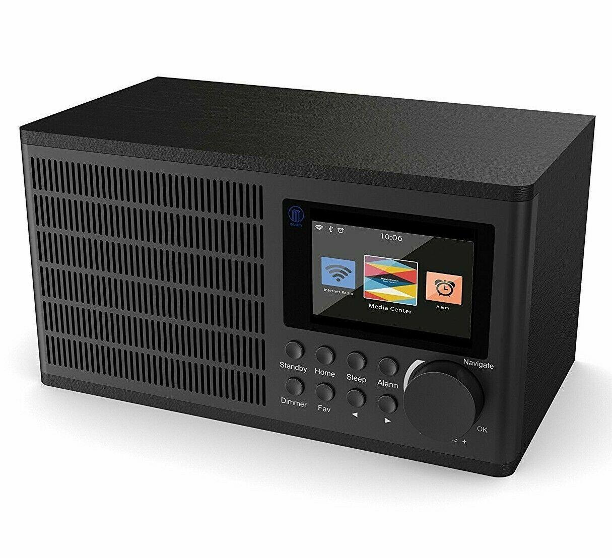 Majority Radio USB WiFi Radio Internet Dual Alarm Clock MP3 Play AUX In - Refurbished - £19.95 @ Ebay / Velocityelectronics