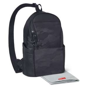 Skip Hop Paxwell Easy Access Sling Backpack / Changing Bag - Black / Camo - £14.95 / £17.90 delivered @ Online4Baby