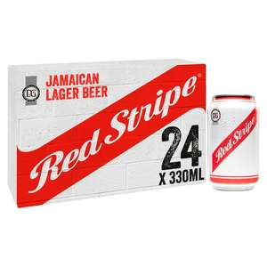 Red Stripe 24x 330ml cans - £13.99 instore @ B&M, North West