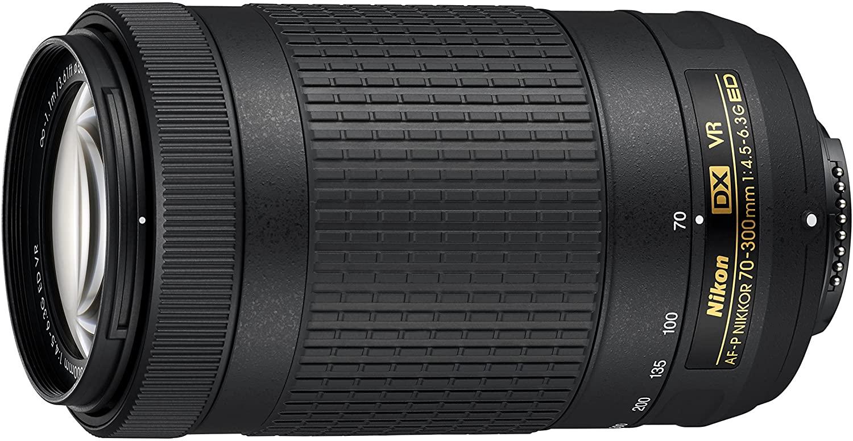 Nikon JAA829DA AF-P DX Nikkor 70-300 mm f/4.5-6.3G ED VR - £205 @ Amazon