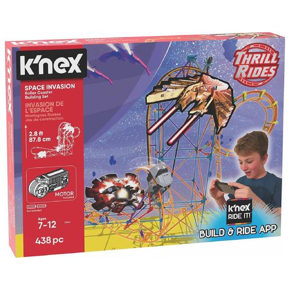KNEX - Space Invasion £30 @ Alton Towers Online Shop