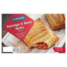 Greggs 3 pack sausage and bean melt £1.50 @ The Food Warehouse