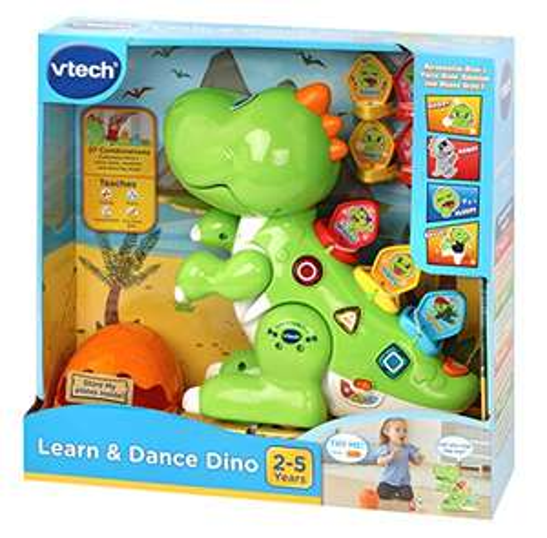 VTech Learn & Dance Dino Baby £19.99 (Prime) + £4.49 (non Prime) at Amazon