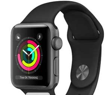 Apple Watch Series 3 - 38mm - £99 or 42mm £109 (Refurb) @ wowcher