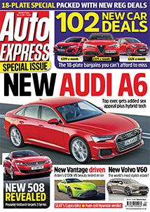 Auto Express Magazine - 6 Issues £1 and Free gift RFID Signal Blocker for keyless car keys
