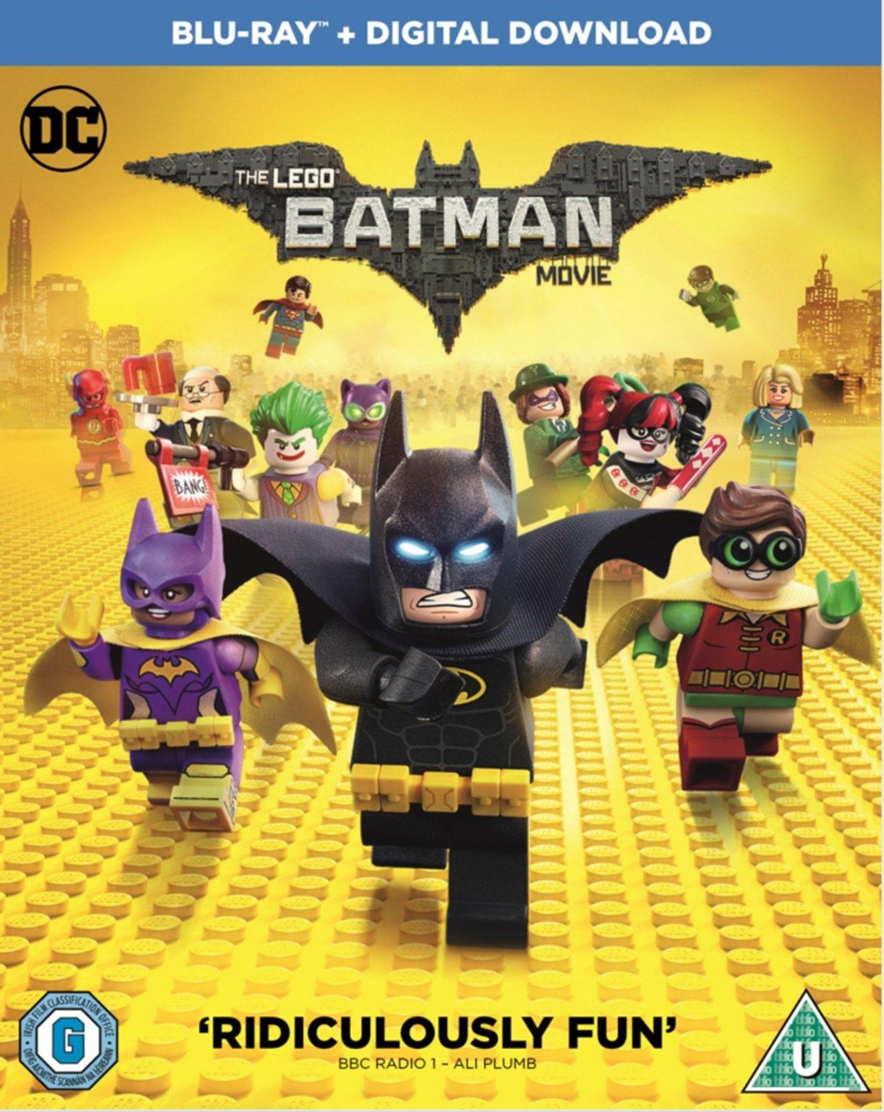 Lego Batman movie blu ray £2.75 @ youritdelivered/eBay