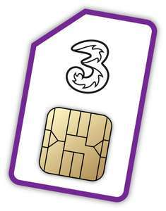 Three mobile Sim Only Unlimited data/text/calls £15pm (poss £11.67 with £40 automatic cashback)