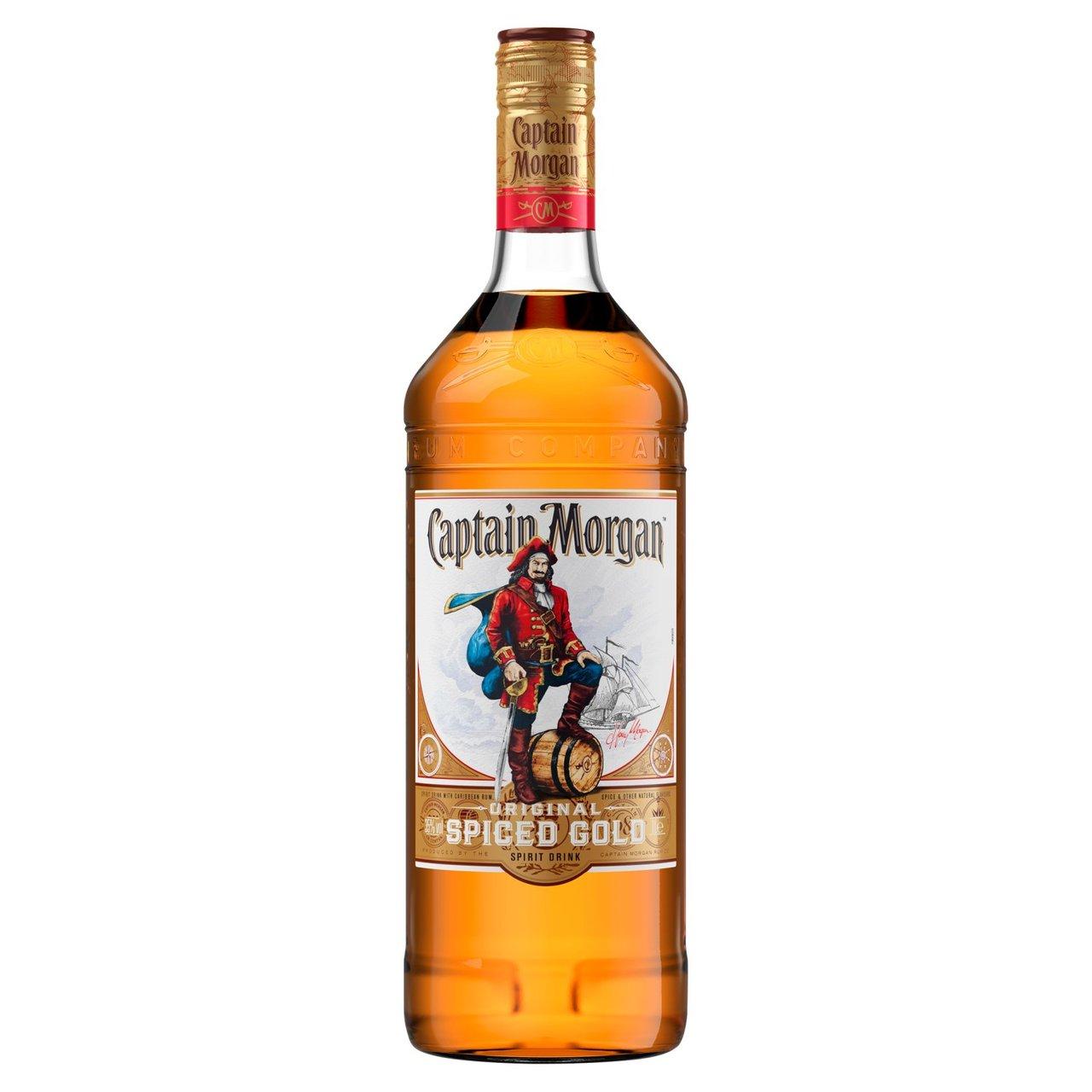 Captain Morgan Original Spiced Gold Rum 1 Litre £15.99 @ Morrisons