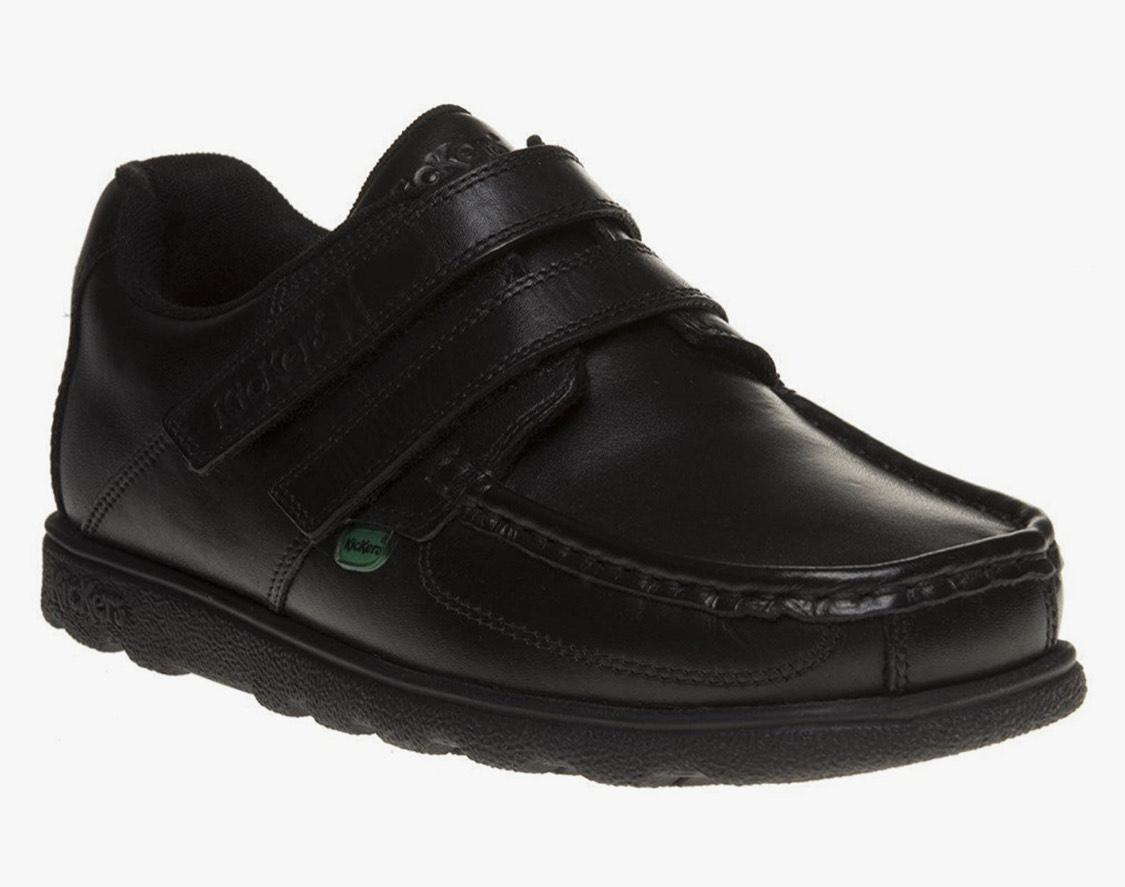 Kickers Fragma Strap Black Size 3 UK Boy's Leather shoes £21 @ Amazon