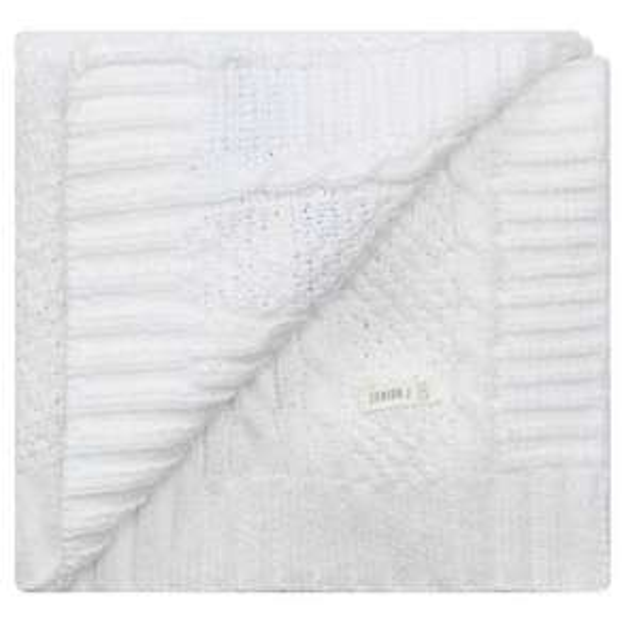 Jasper Conran White Chenille Pram Blanket at Debenhams for £12.79 deliverd