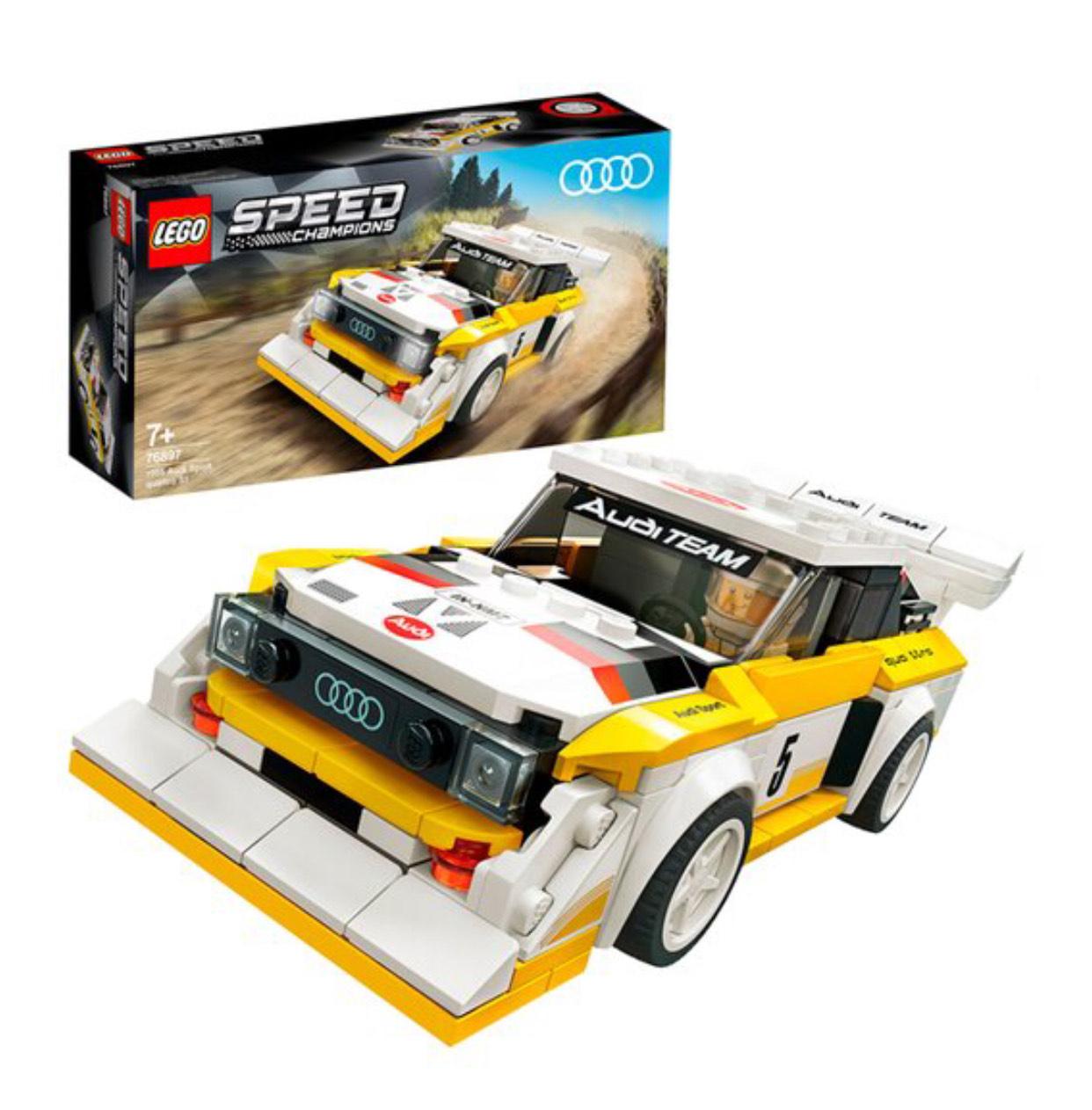 LEGO 1984 Audi Sport Quattro S1 76897 at Tesco £14