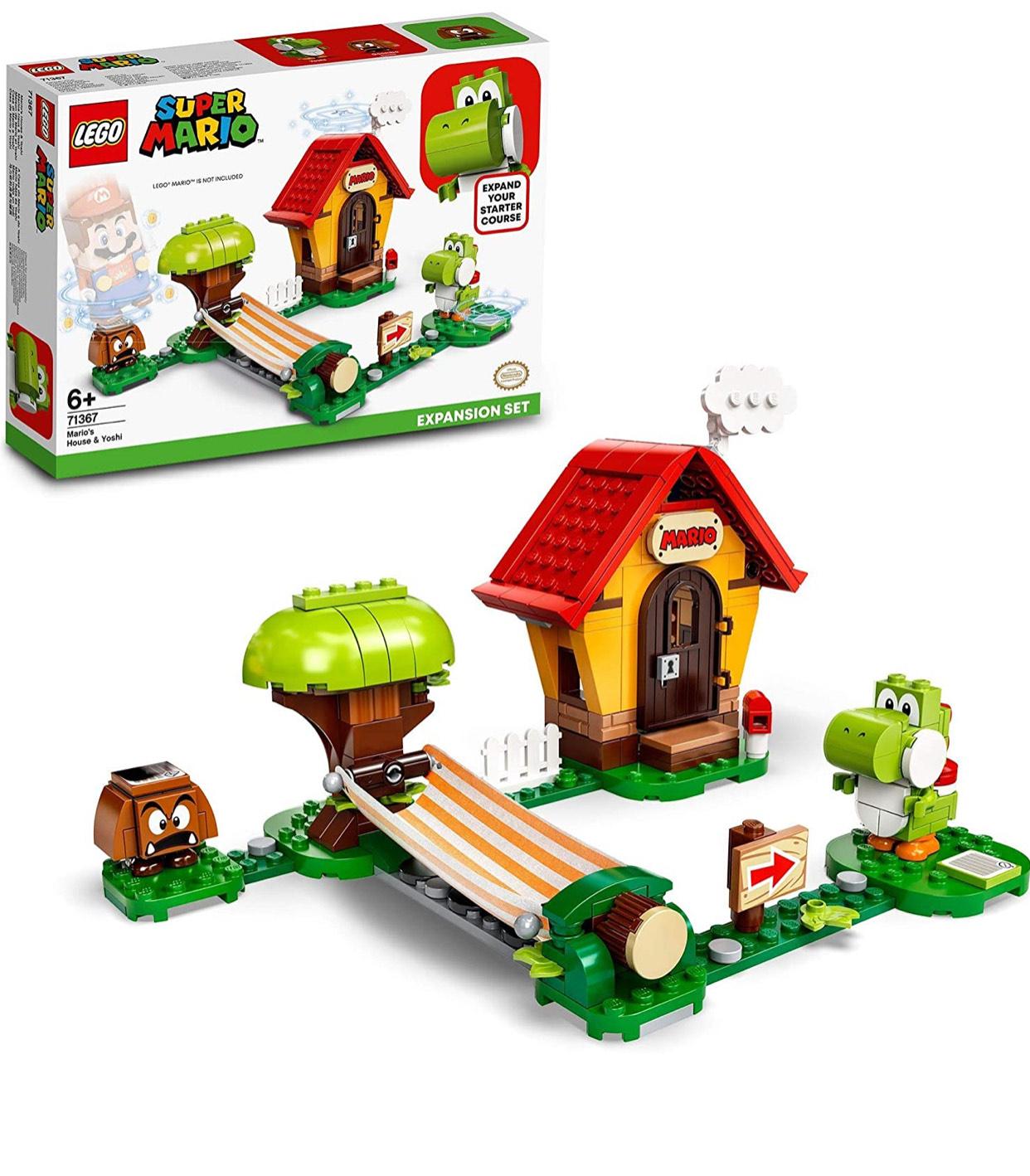 LEGO 71367 Super Mario House & Yoshi Expansion Set £17.50 (+£4.49 Non Prime) at Amazon