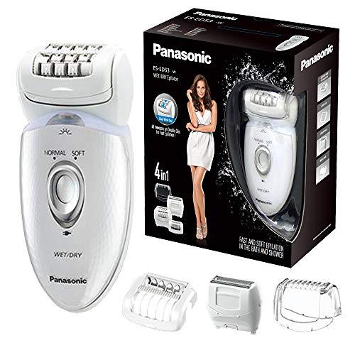 Panasonic ES-ED53 Wet & Dry Cordless Epilator for Women with 4 attachments £35.99 @ Amazon