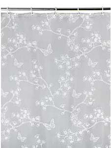 Butterfly Print Shower Curtain £1.50 (Free C&C or £2.95 P&P) @ ASDA