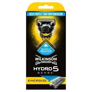 Wilkinson Sword Hydro 5 Sense Energize Men's Razor £5 @ Sainsbury's